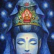 Midnight Meditation Kuan Yin Poster