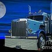 Midnight Peterbilt Poster