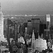 Midtown Manhattan 1980s Poster