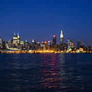Midtown Manhattan Skyline View Poster