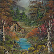 Midwestern Landscape Poster