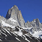 Mighty Mount Fitz Roy Poster