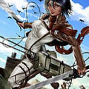 Mikasa Ackerman Poster