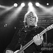 Mike Peters The Alarm By Diana Sainz Poster