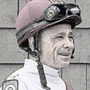 Mike Smith Portrait Poster
