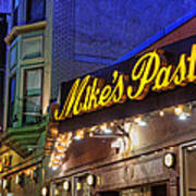 Mike's Pastry Shop - Boston Poster by Joann Vitali