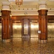 Milam Building Elevators Poster