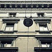Milan Building Poster