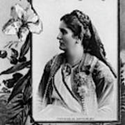 Milena Vukotic (1847-1923) Poster