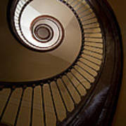 Milk And Chocolate Staircase Poster