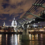 Millennium Bridge Poster by Stephen Norris