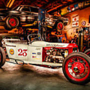 Millers Chop Shop Track T Toyota Poster
