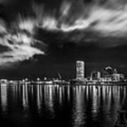 Milwaukee At Night Poster