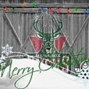 Milwaukee Bucks Poster by Joe Hamilton