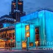 Milwaukee Pac Evening Glow Poster