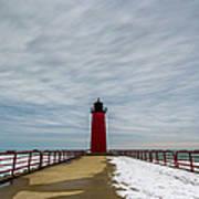 Milwaukee Pierhead Light Poster