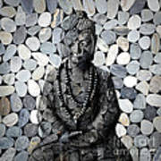 Mineral Buddha Poster
