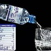 Mineral Water And Its Mineral Content Poster