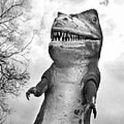 Miniature Golf Dinosaur Poster