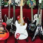 Miniature Guitars Szentendre Hungary Poster