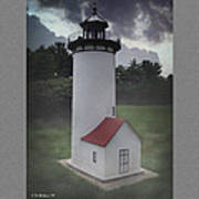 Miniature Lighthouse Poster