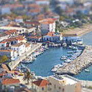 Miniature Port Poster