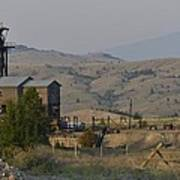 Mining In Butte Poster