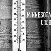 Minnesota Cold Poster