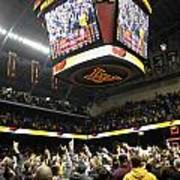 Minnesota Fans Celebrate Victory At Williams Arena Poster