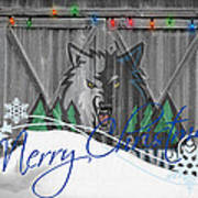 Minnesota Timberwolves Poster by Joe Hamilton