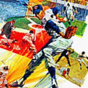 Minnesota Twins 1968 Yearbook Artwork Poster