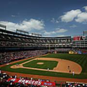 Minnesota Twins V Texas Rangers Poster