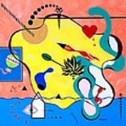 Miro Miro On The Wall Poster