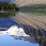 Mirror Lake Banff National Park Canada Poster