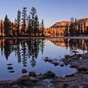 Mirror Lake Dawn Poster