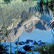 Mirror Lake Two New Zealand Poster