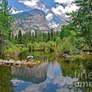 Mirror Lake Yosemite Poster