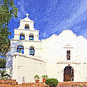 Mission Basilica San Diego De Alcala Usa Poster