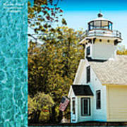 Mission Point Light House Michigan Poster
