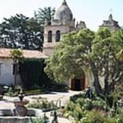 Mission San Carlos Borromeo Del Rio Carmelo Poster