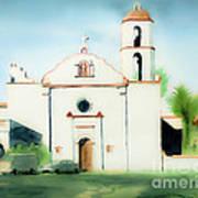 Mission San Luis Rey Dreamy Poster by Kip DeVore