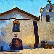 Mission Santa Ines Poster