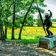 Mississippi Memorial Gettysburg Battleground Poster