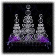 Missouri Botanical Garden Glow Ver 1 Dsc09398 Poster