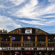 Missouri Hick Bbq Poster