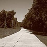 Missouri Route 66 2012 Sepia. Poster