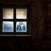 Misty Window Poster
