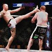 Mixed Martial Arts - A Kick To The Head Poster