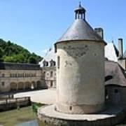 Moated Castle - Bussy Rabutin - Burgundy Poster