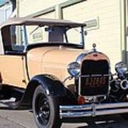 Model A Ford Truck Poster